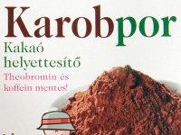 Karobpor, a kakaó helyettesítő