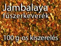 Jambalaya fűszerkeverék 100 g-os kiszerelés
