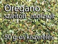 Oregano, morzsolt 50 g-os kiszerelés