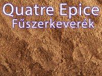 Quatre Épice fűszerkeverék