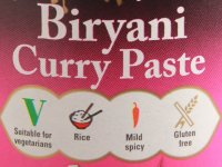 Biryani Curry Paszta Pasco - 260 g