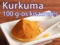 Kurkuma, őrölt 100 g-os kiszerelés