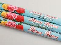 Füstölő, Agarbatti, 3 rózsa 25g