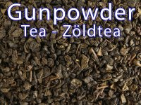 Gunpowder tea - a zöld teák atyja 125g
