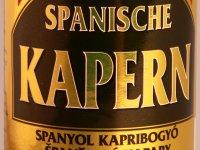 Kapribogyó - spanyol, ecetes, sós lében