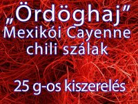 Chili szálak - Ördöghaj, 25 g-os kiszerelés