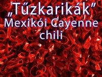 Chili karikák - Tűzkarikák, Mexikói Cayenne Karikák