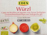 Zöldségleves kocka, Bio - Zöldfűszerekkel