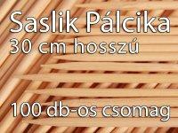 Nyárs, Grill, Saslik pálcikák, 100 db - 30 cm