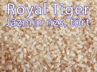 Rizs - Jázmin, Royal Tiger, Tört
