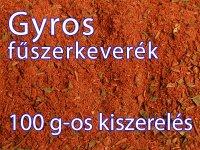 Gyros fűszerkeverék - 100 g-os kiszerelés