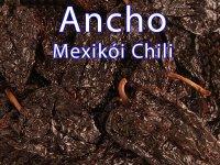 Ancho Mexikói Chili Különlegesség