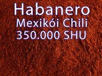 Habanero Mexikói Chili különlegesség, őrölt