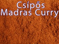 Madras Curry, csípős fűszerkeverék 25g