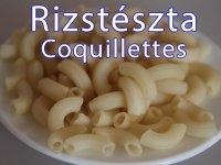 Rizstészta - Csőtészta, Coquillettes