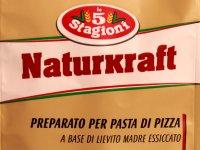 Élesztőpor, Szárított Kovászból Pizzatésztához