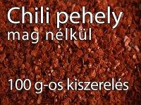 Chili Pehely Mag nélkül - 100 g