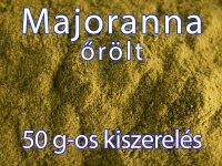 Majoranna, őrölt - 50 g-os kiszerelés
