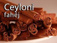 Fahéj, Ceyloni, egész, 8 cm rudak