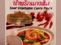Zöldséges Savanyú Curry Fűszerpaszta