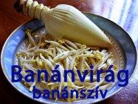 Banánvirág, Banánszív Konzerv