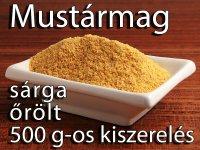 Mustármag, Sárga őrölt - 500 g-os kiszerelés