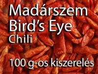 Madárszem Chili - Bird's Eye Chili, 100 g-os kiszerelés