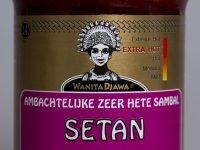 Setan Sambal Extra erős Chiliszósz