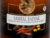 Sambal Badjak - Koningsvogel 200g