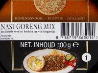 Nasi Goreng Fűszerpaszta, Koningsvogel