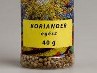 Koriander, egész - Fűszerszóróban, 40g