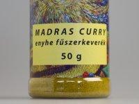 Madras Curry Enyhe Fűszerkeverék - Fűszerszóróban 50g