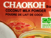 Kókusztej por, thaiföldi Chaokoh 60g