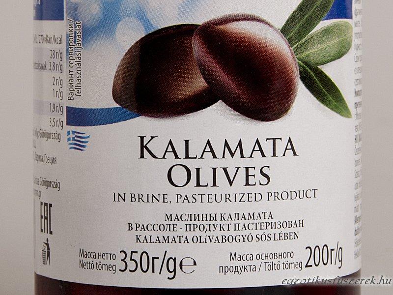 Kalamata Olívabogyó - görög 350g