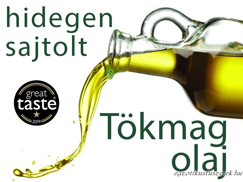 Tökmag olaj - Hidegen Sajtolt 100 ml