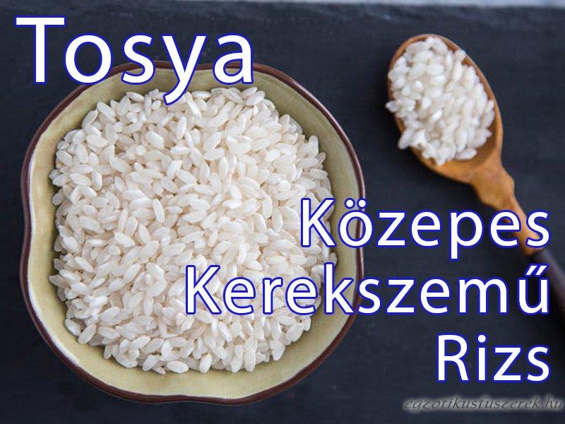 Rizs - Közepes Kerekszemű