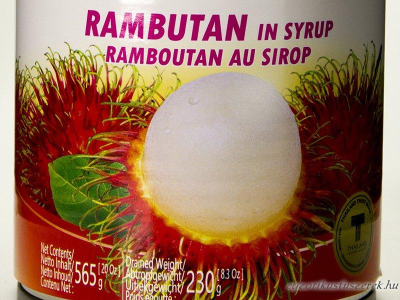 Rambután Gyümölcs - Szirupban 565 g, FG