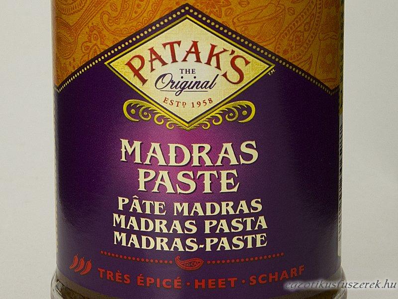 Madras Curry Főzőkrém - Patak's 283 g csípős