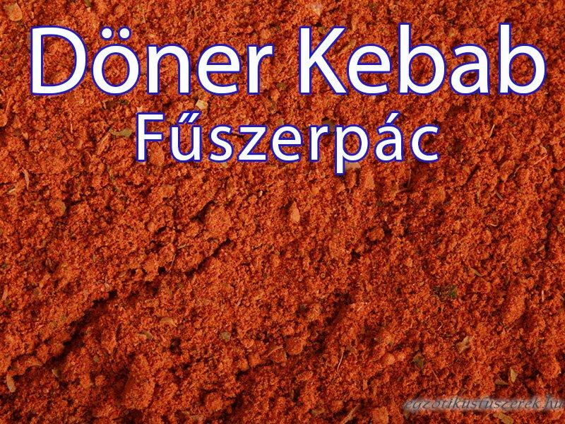 Döner Kebab Fűszerkeverék 100 g-os kiszerelés