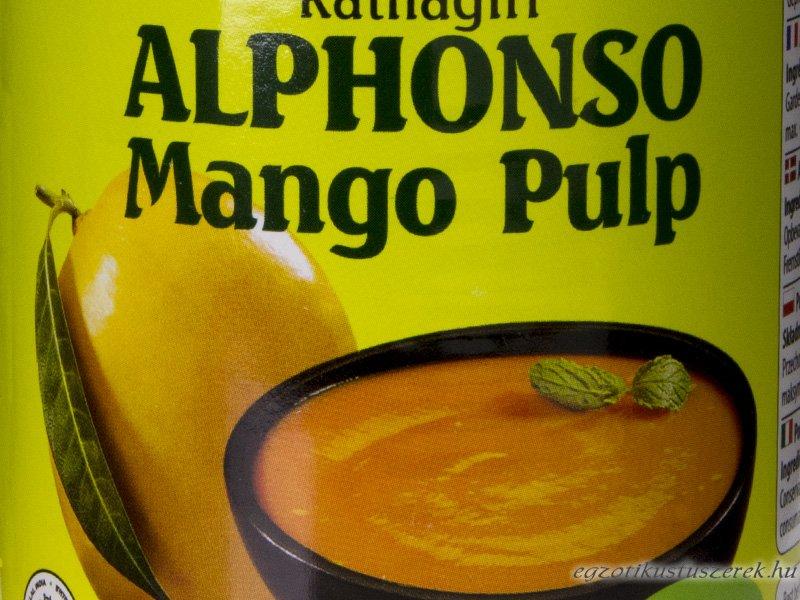 Mangó Püré - Alphonso Mangóból