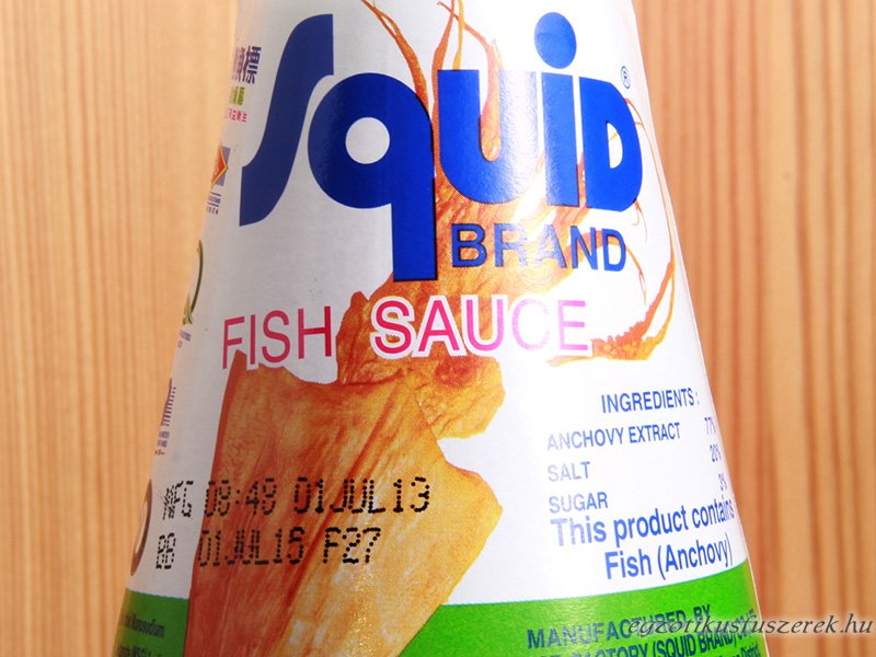 Halszósz, A-minőség, Squid