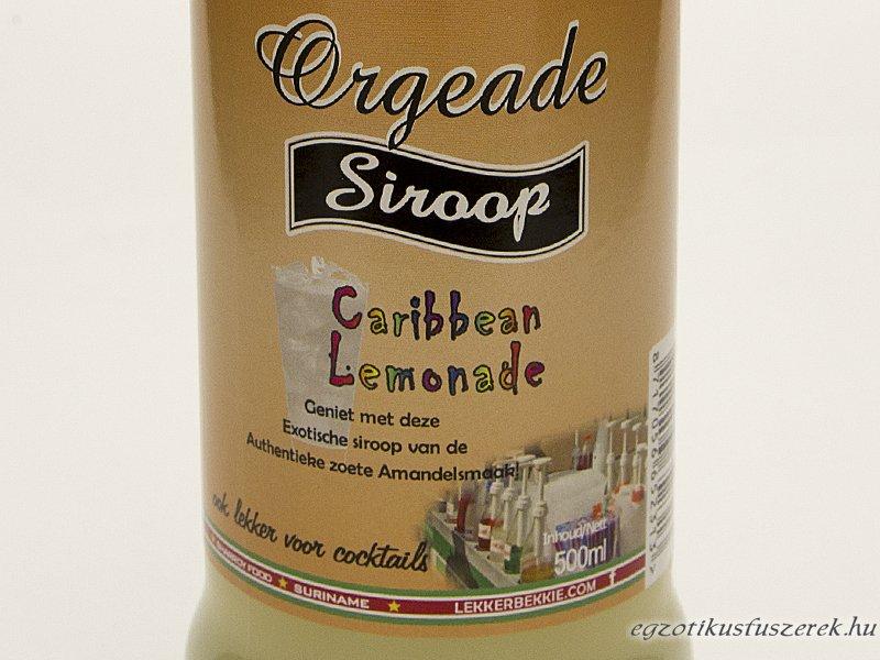 Orgeade Szirup - a Karibi Limonádé 500 ml