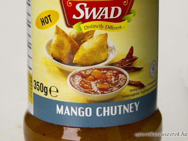 Mango Chutney, Indiai, Csípős, 350g