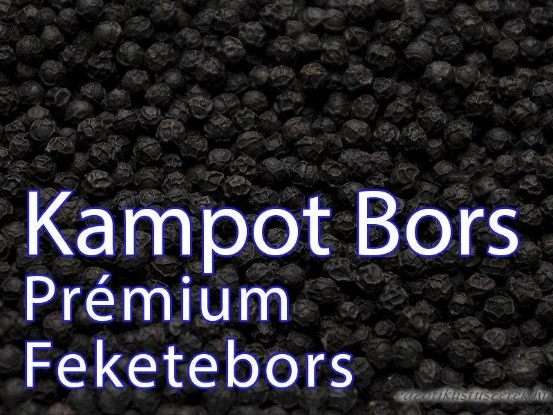Kampot Bors - Prémium Feketebors