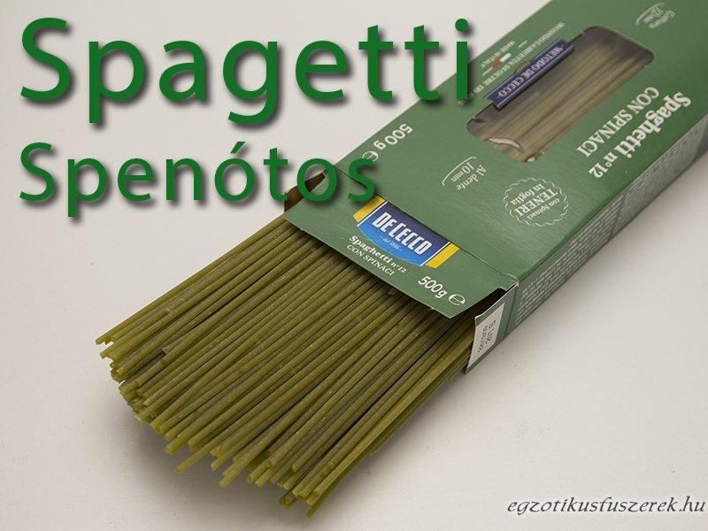 Spagetti - Spenótos, Olasz 500g