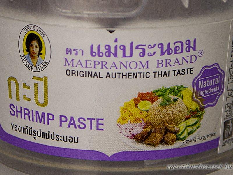 Rákpaszta - Thai Garnélapaszta 100g