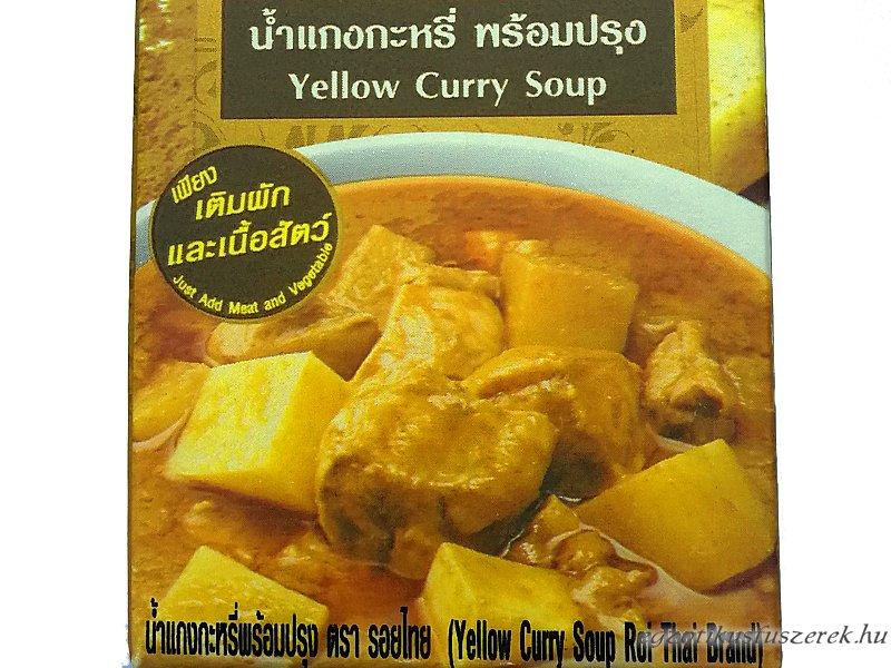Sárga Curry leves, Thaiföldi készétel, 250 ml