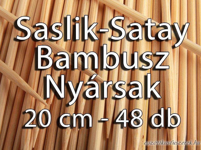 Nyárs, Grill, Saslik pálcikák -20 cm, 48 darabos
