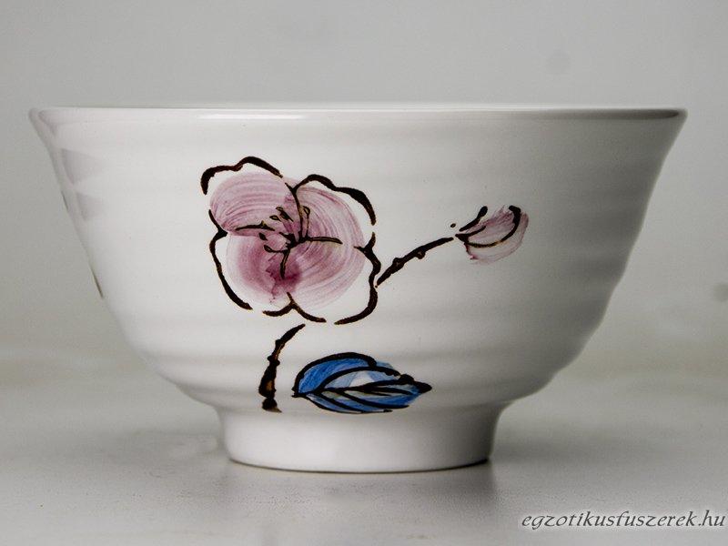 Rizstál, Levesestál - Japán Szilvavirág mintás 11,5 cm
