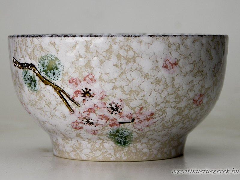 Rizstál, Levesestál - Japán White Snow mintás 11,6 cm